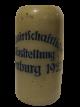 BIERKRUG LANDWIRTSCHAFTLICHE AUSSTELLUNG HOMBURG 1923 1L VORNE GEEICHT SELTEN !!