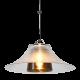 J.T. Kalmar Pendant Lamp Glass Amber Pendelleuchte Hängeleuchte Speisezimmer 5.Z