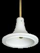 Deckenleuchte P267 4231 Milchglas Limburg Leuchten Pendant Glass Lamp 60s 1.Z