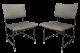 2 x 50s Chair Stuhl German Modernist Herta-Maria Witzemann für Wilde und Spieth 1Z