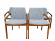 Henning Kjaernulf Modell 23 Dining Chairs, Set of 4