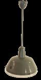 Industrielampe mit Glasschutz