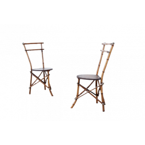 50s60s70s 2er Set Stühle Chairs Paolo Traversi Design Vintage